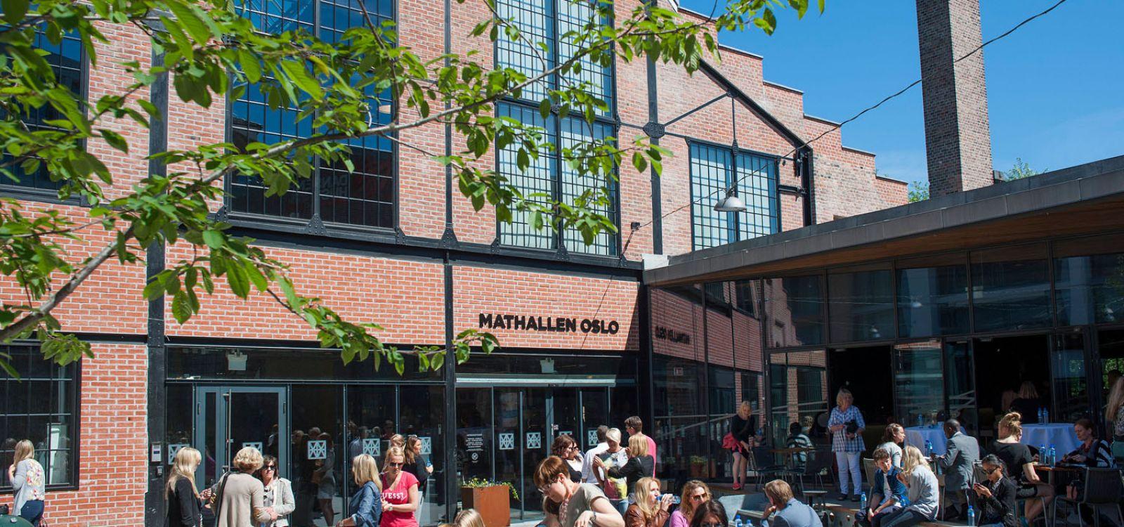 Торговый центр Матхаллен (Вулкан, Осло)