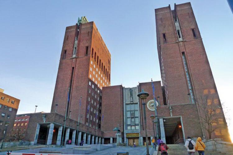 Достопримечательности Осло: здание ратуши