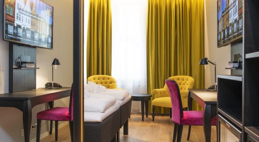 Отели Бергена в центре - Thon Hotel Rosenkrantz Bergen