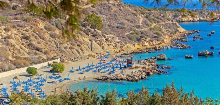 Пляж Коннос, Айя-Напа, Кипр