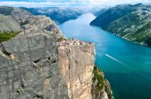 Экскурсия на Люсе-фьорд, Норвегия