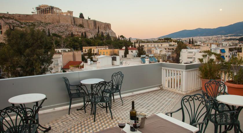 Отель Acropolis View Hotel (Анафиотика, Афины)