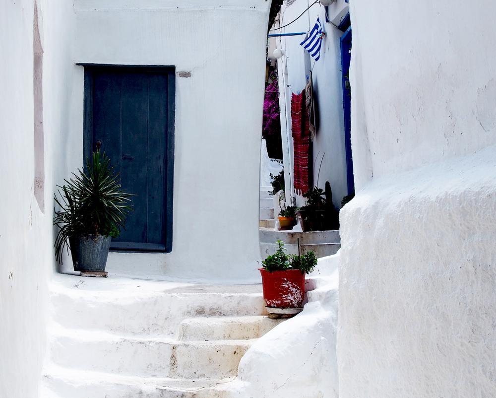 Традиционный греческий пейзаж (Анафиотика, Афины)