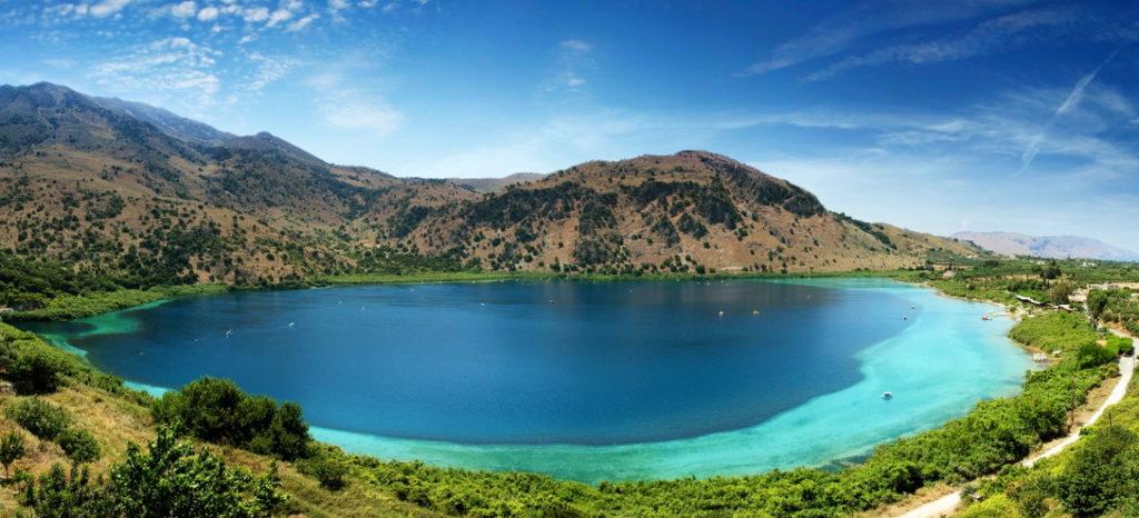 Озеро Курнас (Георгиуполис, о. Крит)