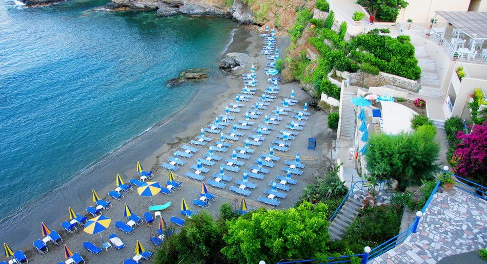 Какие пляжи в Бали, остров Крит, Греция
