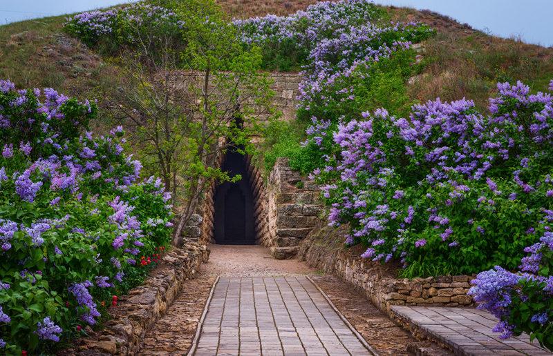 Таинственный вход в «Царский курган», Керчь