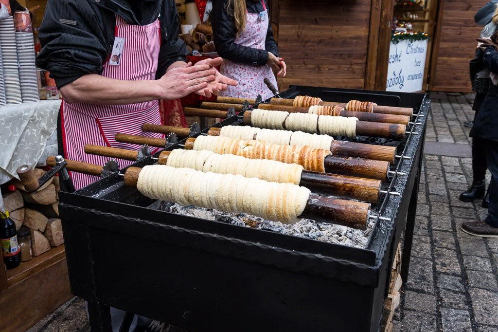 Вкусные сувениры из Праги - трдельники