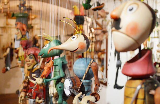 Куклы-марионетки - традиционные сувениры из Праги