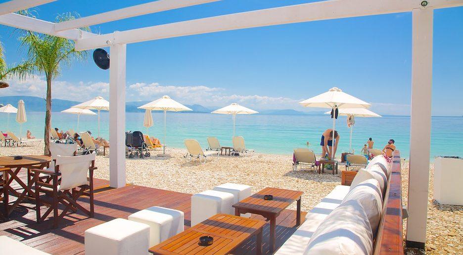 Лучшие пляжи Корфу - пляж Барбати, Греция