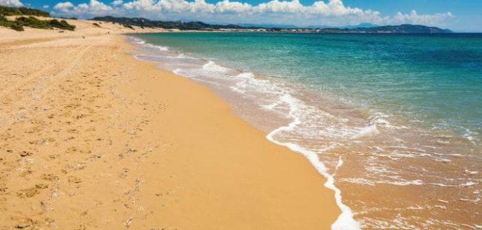 Пляжи Корфу - Халикуна, Греция