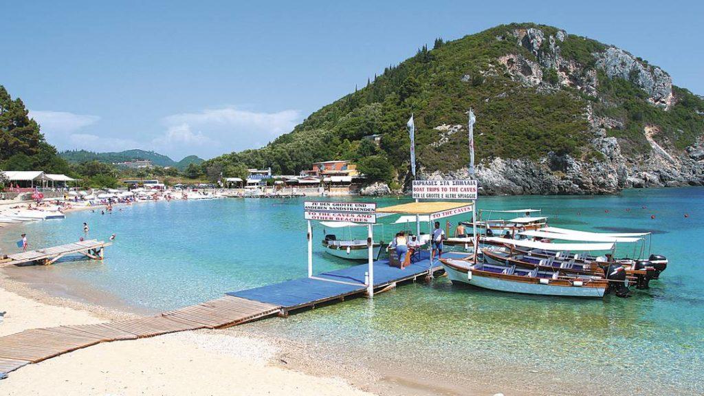 Лучшие пляжи Корфу - Палеокастрица, Греция