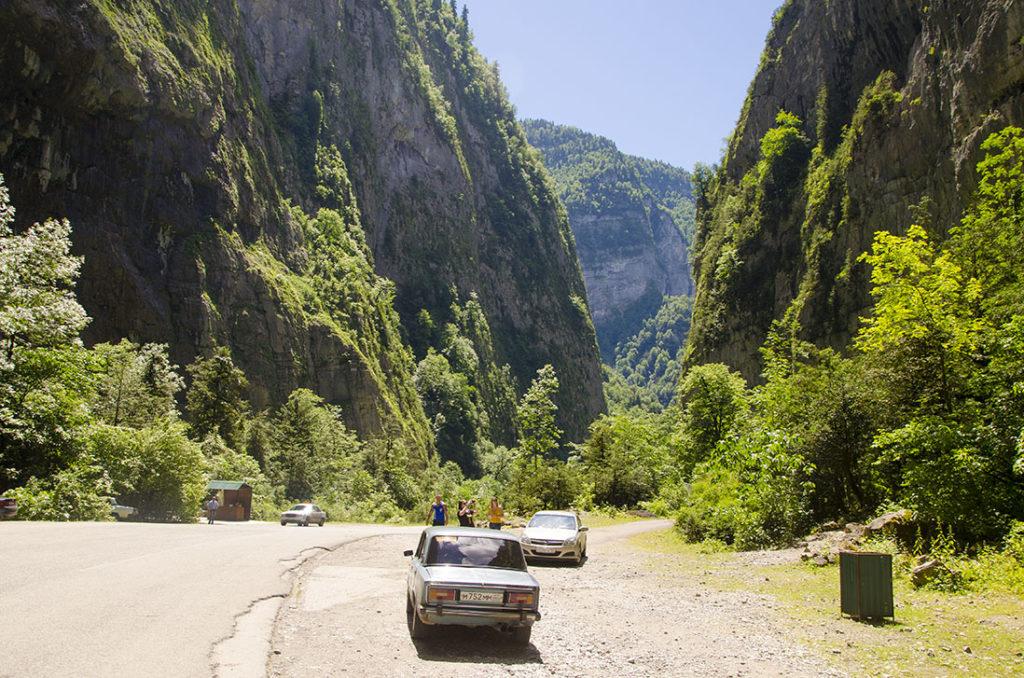 Абхазия - как добраться на авто
