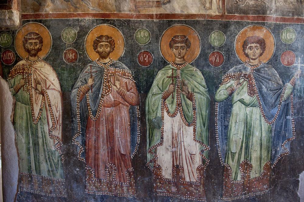 Достопримечательности Крита: фрески Панагия Кера