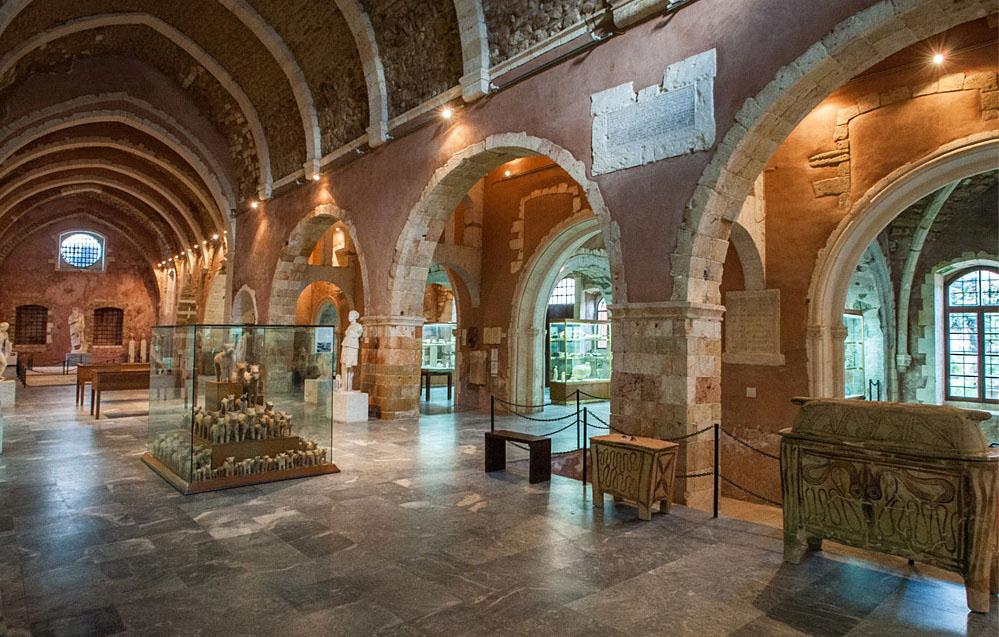 Археологический музей Ираклиона (о. Крит, Греция)