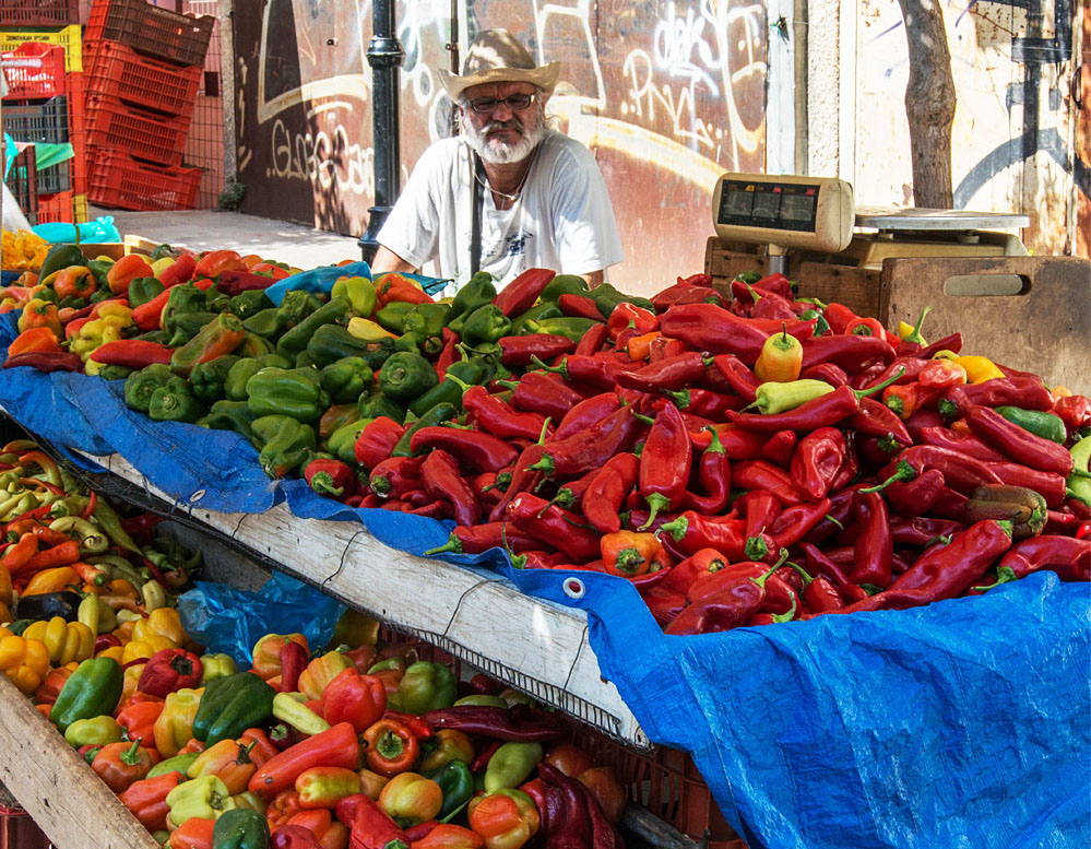 Достопримечательности Крита - продуктовые рынки