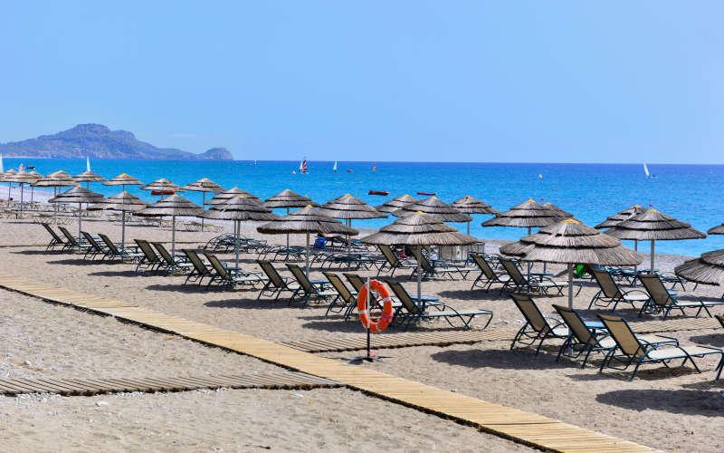 Лучшие пляжи Родоса: Афанду