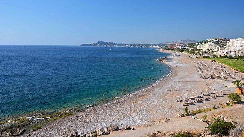Лучшие пляжи Родоса: Фалираки