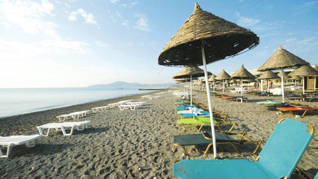 Лучшие пляжи Родоса: Калифея