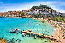 Город-курорт Линдос (о. Родос) — отели и отдых