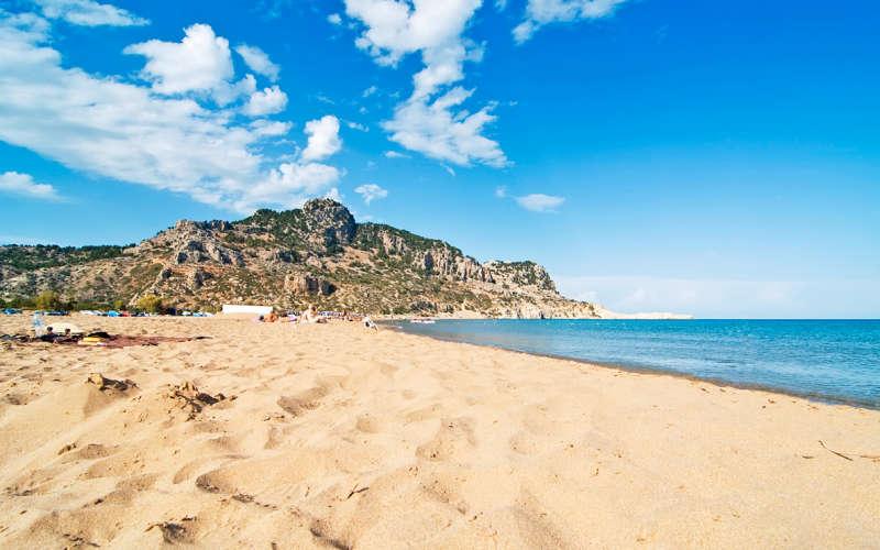 Лучшие пляжи Родоса: Цамбика