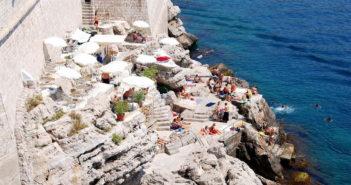 Пляж Бужа, Дубровник