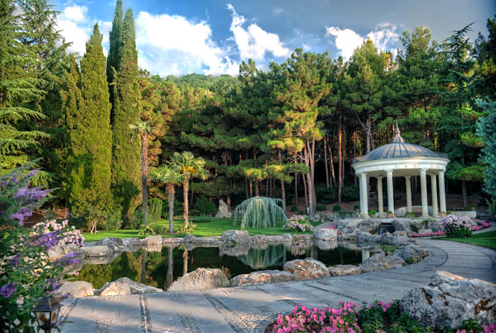 Парки Крыма: Айвазовское в Партените