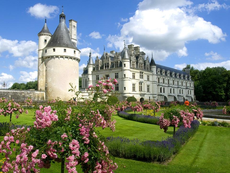 Куда съездить из Парижа: замок Шенонсо, долина Луары париж Лучшые экскурсии из Парижа paris excursions 4