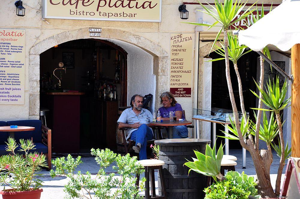 Таверна в Агиа Галини (Крит, Греция)