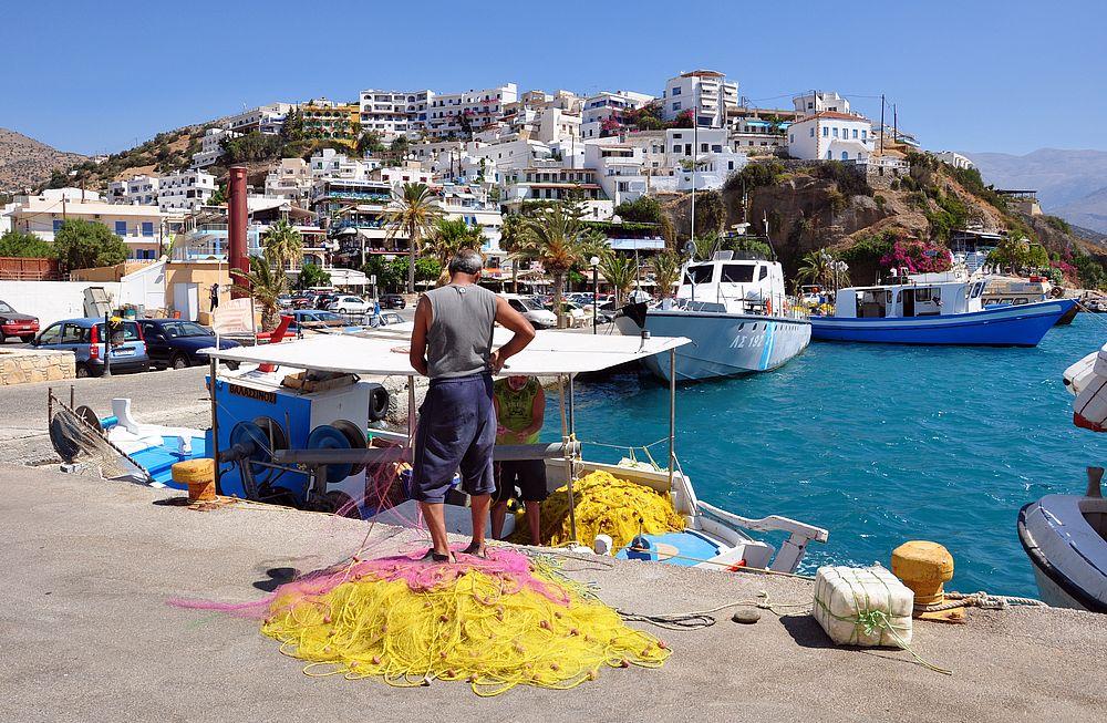 Залив Мессара (Агиа Галини, Крит)