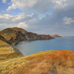 Панорама мыса Хамелеон (Коктебель, Крым)