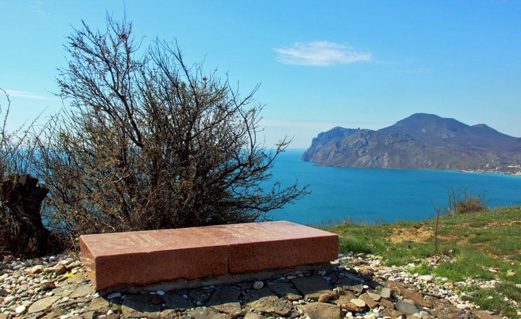 Достопримечательности Коктебеля: могила Волошина