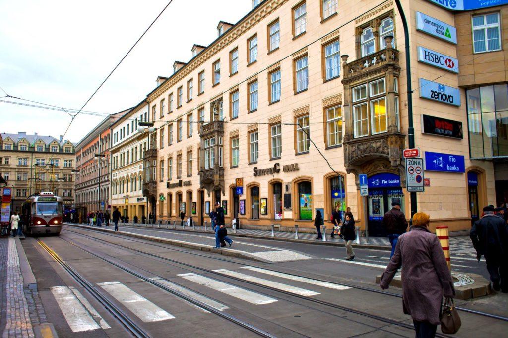 Улицы Нового города, Прага