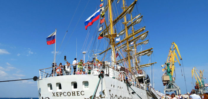 Экскурсия на парусник «Херсонес», Севастополь (ФОТО)