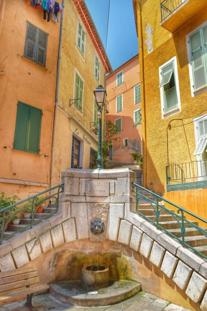 Вильфранш - как доехать из Ниццы, Франция