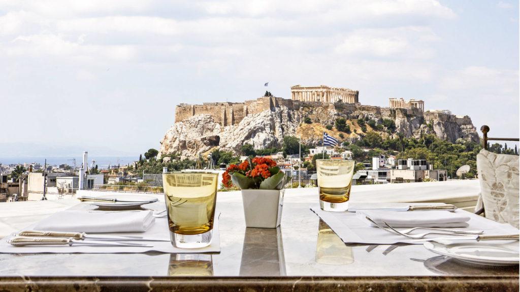 Ресторан на холме Ликавит (Колонаки, Афины)