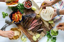 Кухня Мексики: фахитос из говядины — рецепт