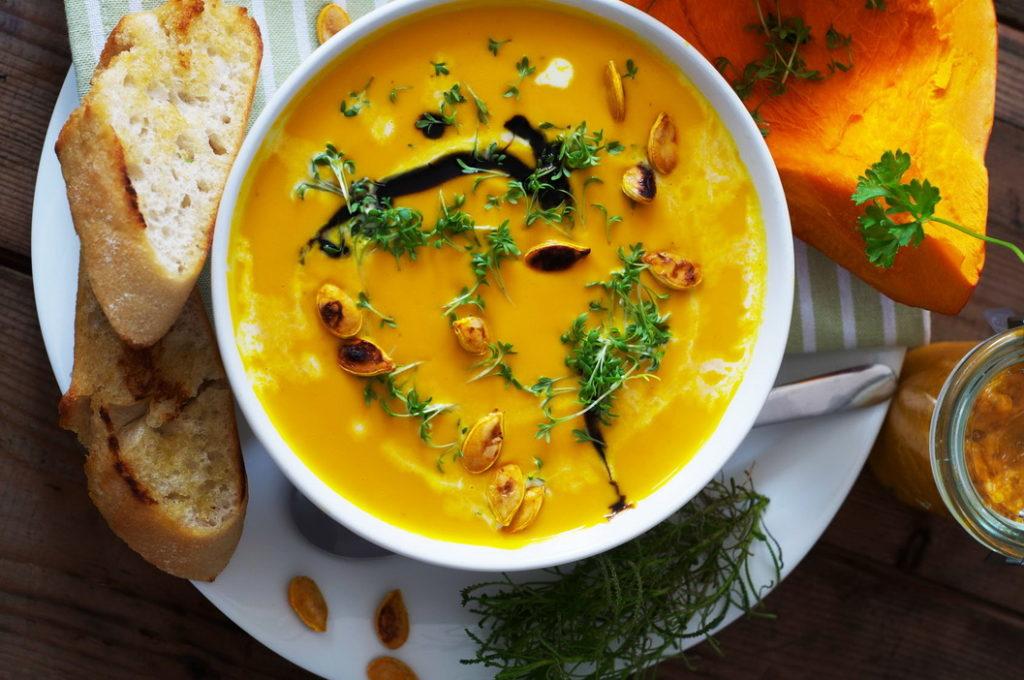 Тыквенный суп - рецепт и ингредиенты