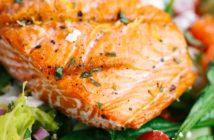 Норвежский салат с запеченной семгой — рецепт, ингредиенты