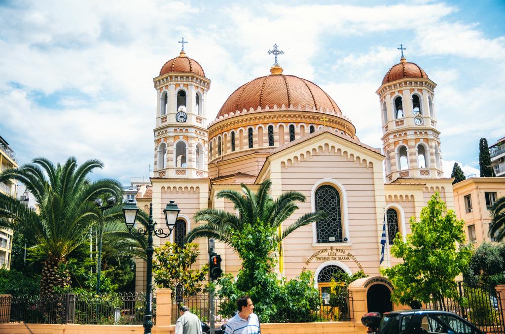 Салоники, Греция: собор Григория Паламы