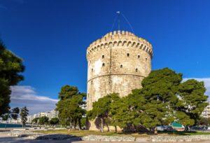 Белая башня, Салоники — как добраться