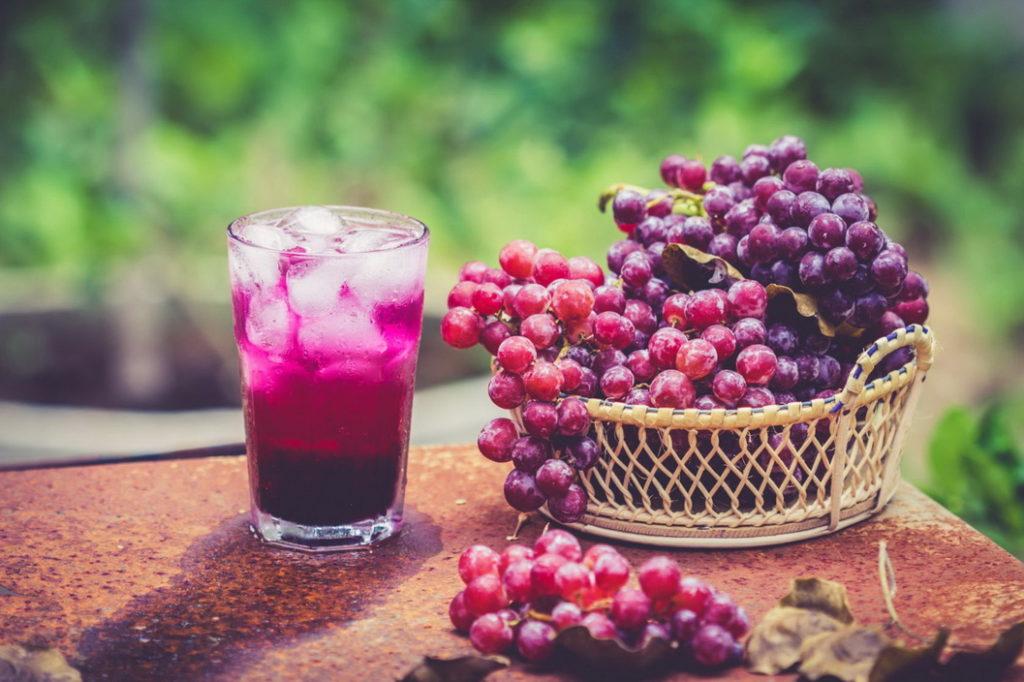 Виноградный сок — идеальный вариант заготовки на зиму