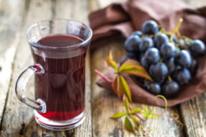 Рецепт приготовления виноградного сока на зиму