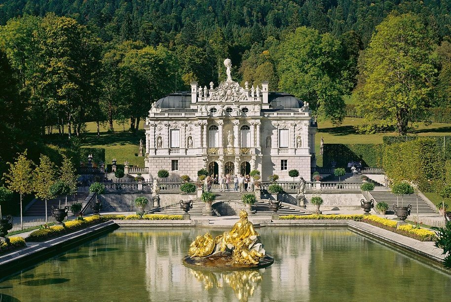 Куда можно съездить из Мюнхена? В замок Линдерхоф!