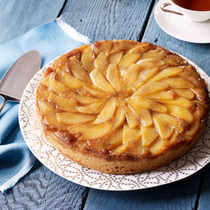 Грушевый пирог с карамелью - рецепт, фото, видео
