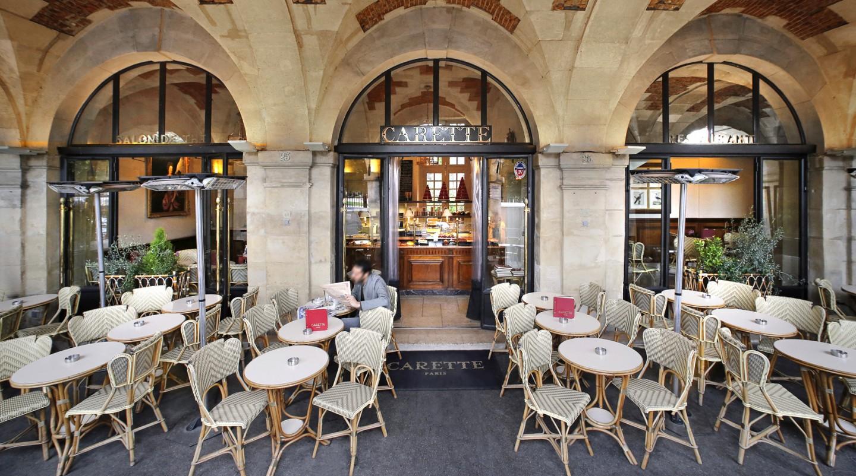 Ресторан Cafetti (площадь Вогезов, Париж)