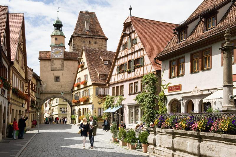 Лучшие однодневные поездки из Мюнхена: Ротенбург