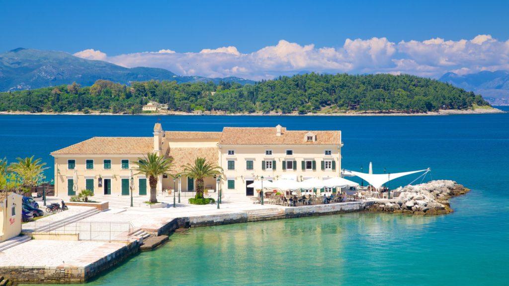 Как добраться на Корфу из Афин (порт Игуменица)