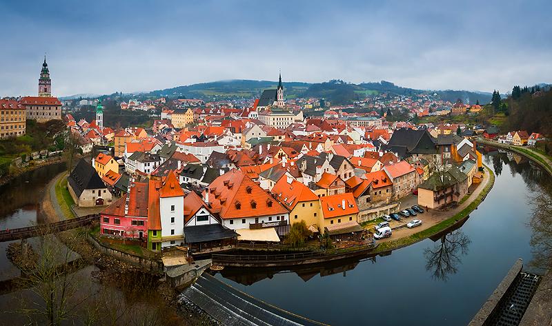 Поездки и экскурсии из Праги: Чешский Крумлов