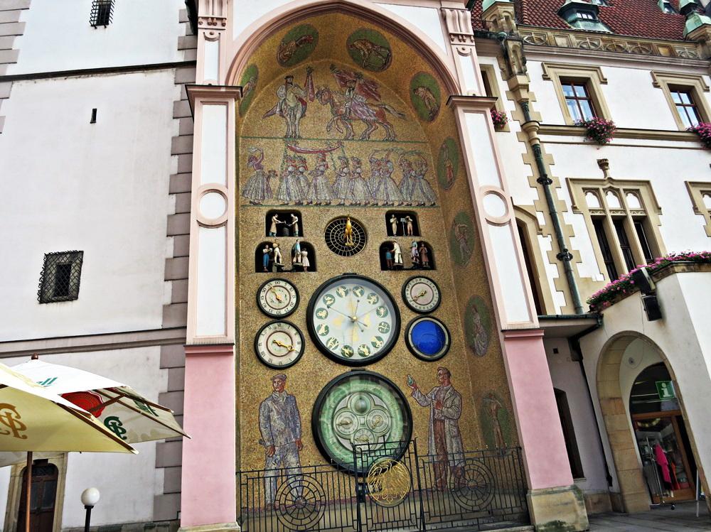 Астрономические часы в Оломоуце, Чехия
