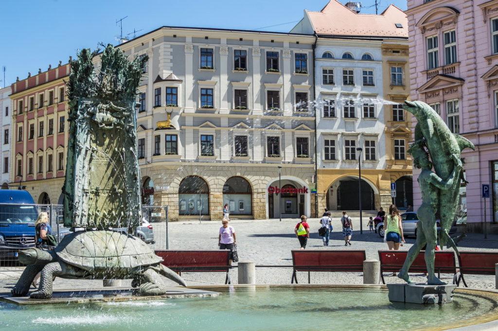 Интересные места Оломоуца: фонтаны Оломоуца
